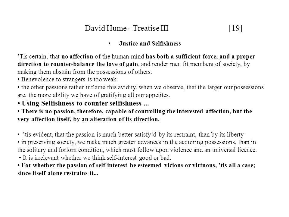 David Hume - Treatise III [19]